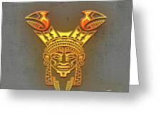 Indian Totem Greeting Card