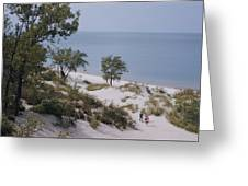 Indiana Dunes State Park Provides Greeting Card