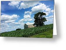 Indiana Farm Scene Greeting Card