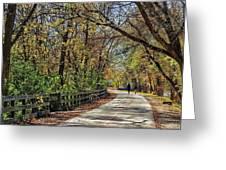 Indiana Monon Trail Greeting Card