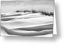 Indiana Snow Greeting Card