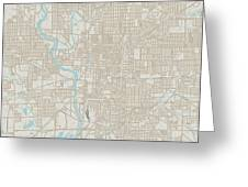 Indianapolis Indiana Us City Street Map Digital Art By Frank Ramspott - Indianapolis-on-us-map