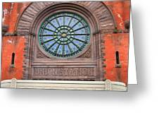 Indianapolis Union Station Building Greeting Card