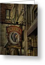 Indianica Montreal Greeting Card