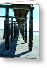 Indianola Washington Dock 2 Greeting Card