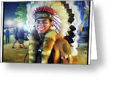 Indians Invade Thailand. Cowboys Too Greeting Card by Mr Photojimsf