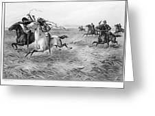 Indians/u.s. Military, 1876 Greeting Card