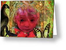 Indigo Child Greeting Card