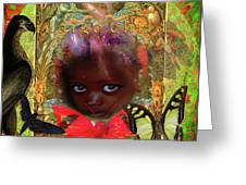 Indigo Children Greeting Card