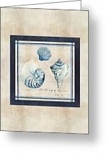 Indigo Ocean - Song Of The Sea Greeting Card