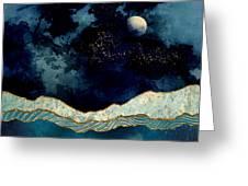 Indigo Sky Greeting Card