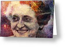 Indira Greeting Card