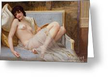 Indolence Greeting Card by Guillaume Seignac