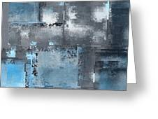 Industrial Abstract - 10t Greeting Card
