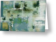 Industrial Abstract - 17t Greeting Card