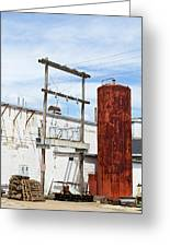 Industrial Building One Greeting Card