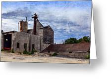 Industrial Cement Factory Greeting Card