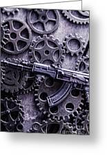 Industrial Firearms  Greeting Card