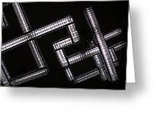 Industrial Geometric Design Greeting Card