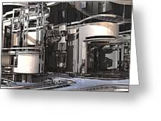 Industrial Manufacturing Greeting Card