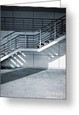 Industrial Stairway Greeting Card