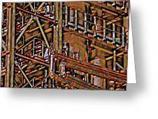 Industrial Storage And Distribution System Greeting Card