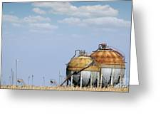 Industry Tank For Gas And Liquid Greeting Card