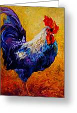 Indy - Rooster Greeting Card