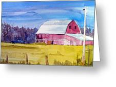 Indy Barn Greeting Card