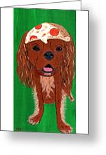 Indy - Pizza Greeting Card