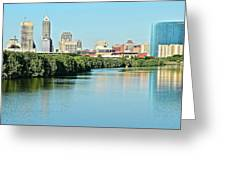Indy White River View Greeting Card