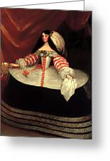 Inez De Zuniga - Countess Of Monterrey Greeting Card