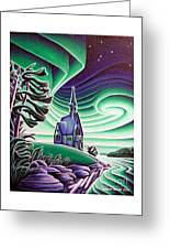 Church Of The Infant Jesus, Longlac, Ontario Greeting Card