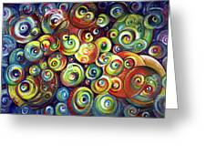 Infinite Cosmic - Abstract Greeting Card
