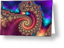 Infinite Rainbow Greeting Card