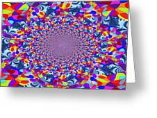 Infinity Flower Greeting Card