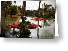 Infinity Pool Greeting Card
