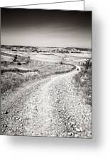 Infinity Road To Santiago Greeting Card