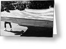 Inflatable Flag July 4th Parade 1 Tucson Arizona Greeting Card