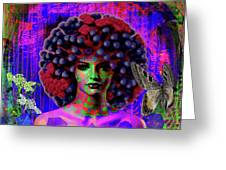 Influenza She Has Gone Viral Greeting Card