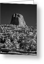 Infrared Devilstower #4 Greeting Card