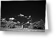 Infrared Farm Greeting Card