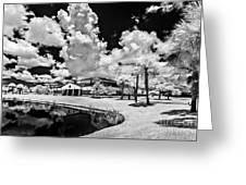 Infrared Indian River State College Hendry Campus #11 Greeting Card