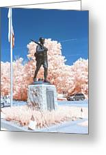 Infrared Memorial Greeting Card
