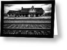 Ingersoll Train Station    Greeting Card