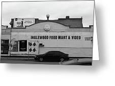 Inglewood Food Mart Greeting Card