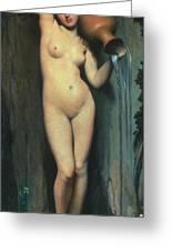 Ingres: The Spring, 1856 Greeting Card