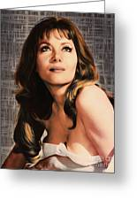 Ingrid Pitt, Vintage Actress Greeting Card