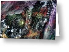Inhabited Space #2 Greeting Card