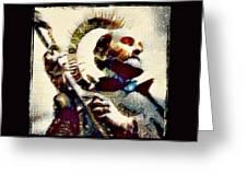Inigo At Manresa Greeting Card